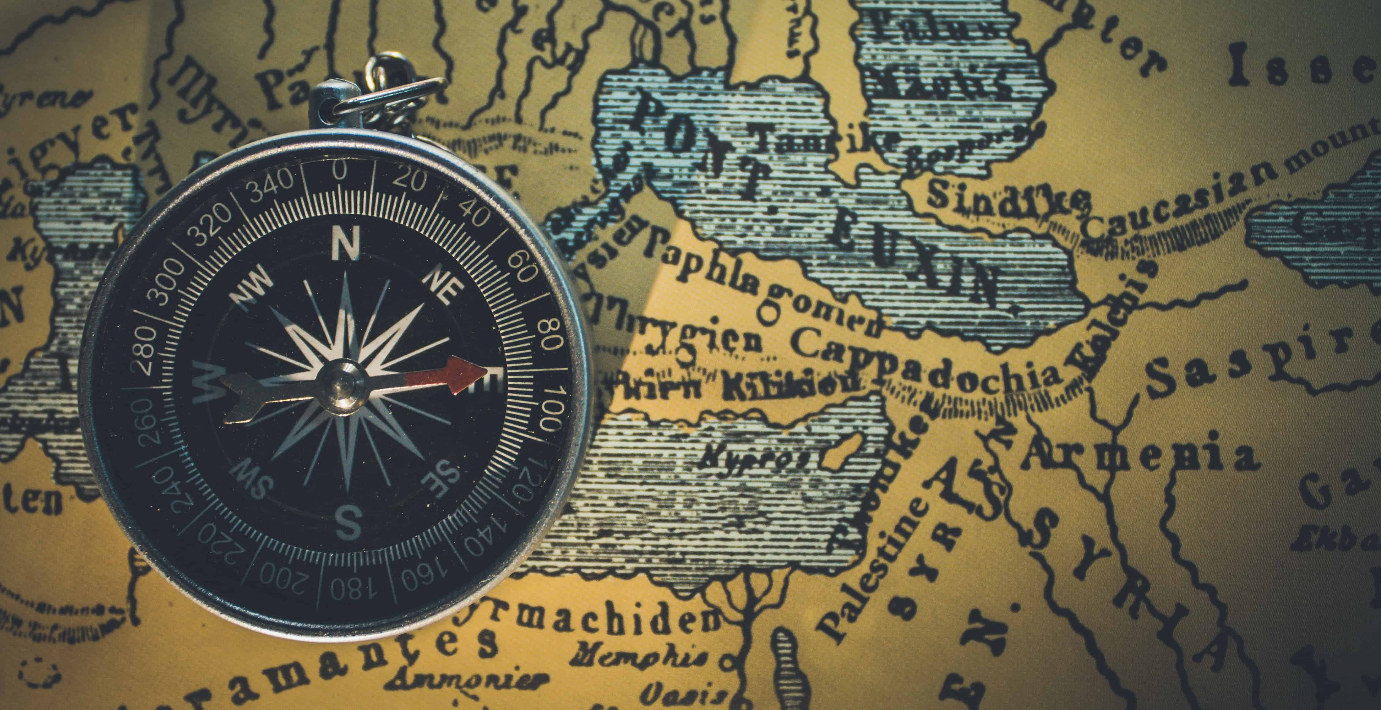 Brand positioning - Compass and Map